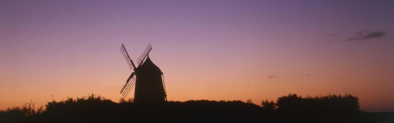 Die Insel der Windmühlen